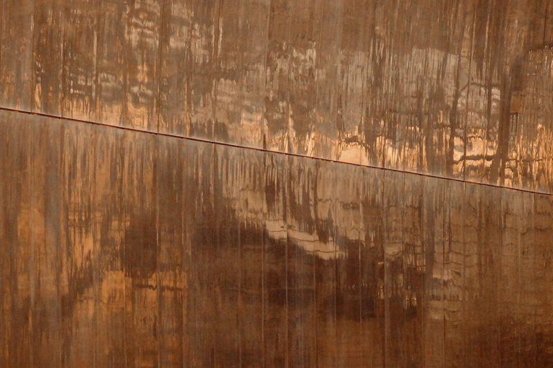 Full frame shot of metallic wall