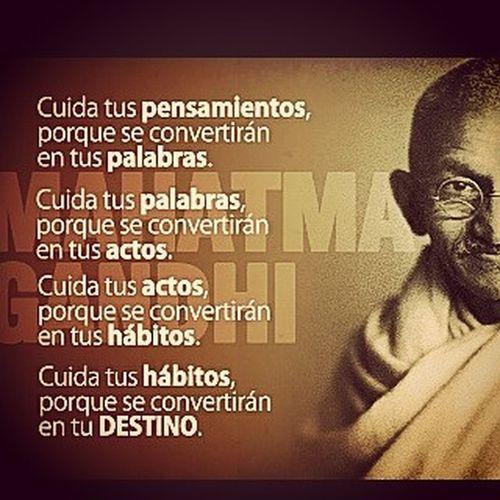 Filosofía MahatmaGhandí