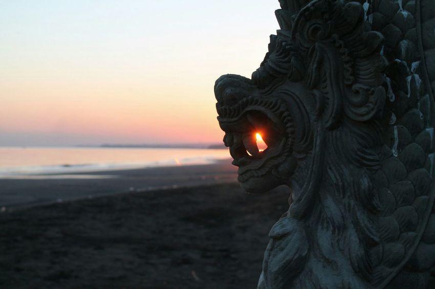Buddha sun Buddha Sunrise Sunset Lovina Beach Sunset_collection Bali, Indonesia Beach Beach Photography