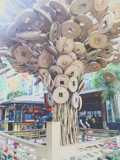 Money tree. Art And Craft Architecture Chinatown Manila, Philippines Art Is Everywhere Moneytree EyeEmNewHere Travel Destinations Neighborhood Map