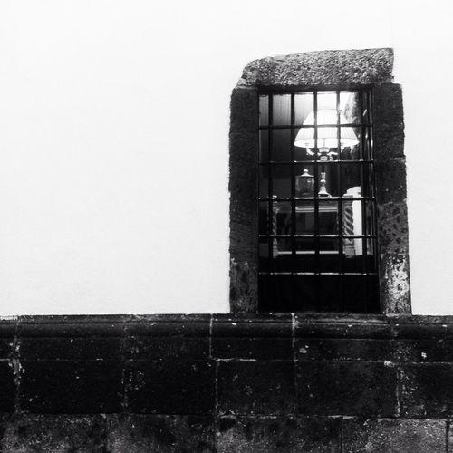 Blackandwhite Window Street