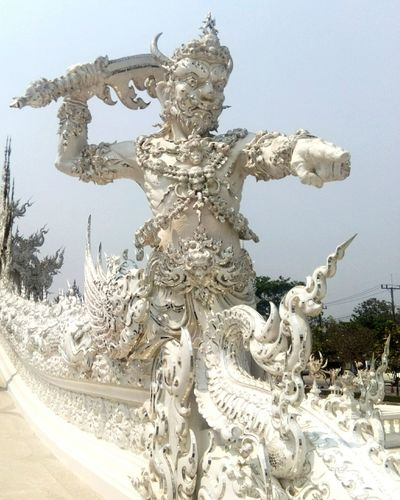 Watrongkhun Temple EyeEm Thailand Photooftheday Chiangrai Chiang Rai Thailand