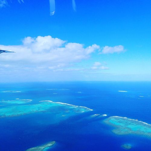 Vacation for me Ile Des Pins Scenics - Nature Sea Sky Blue Cloud - Sky Water Beauty In Nature Nature Land Travel Outdoors Tranquil Scene