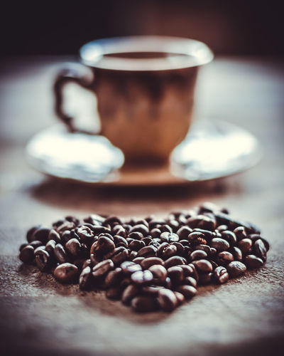 Fun with Coffee at home :p Brown Close-up Coffee - Drink Coffee Bean Coffee Cup Coffee Heart Cup Day Drink Food Food And Drink Freshness Healthy Eating Heart Indoors  Latte No People Refreshment Scented Star Anise Table