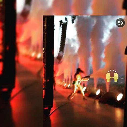 Majorlazers Diplo  Killingit Budapest szigetfestival leanon rollthebass whereyounow naenaetakeover snapchat instagram instalike instagramlove instadaily tomorrowlandbrasil tomorrowworld edmmusic thebestplacetobe thebestmusicever diehardfan smokey smokegun