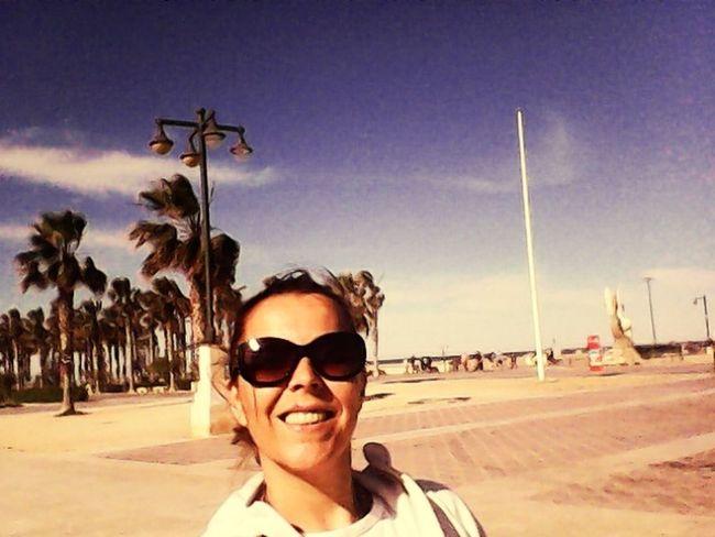 Em playa malvarrosa Relaxing