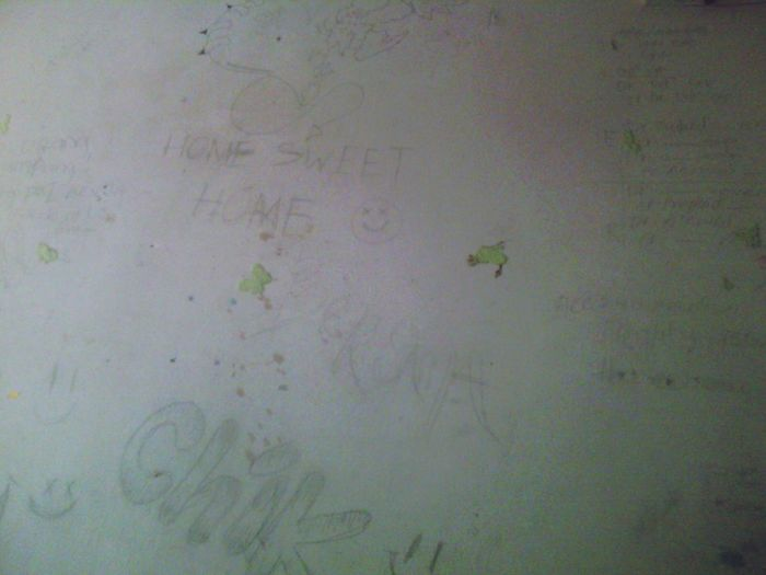 Probably the worst drawed wall ever
