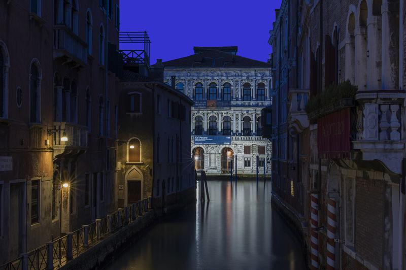 Architecture Blue Hour Museo Venezia Venice, Italy Baldassare Longhena Baroque Style Reflections Santa Croce, Venezia Veneto