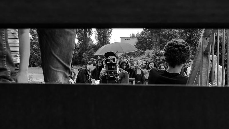 MOVIE Cinema Director Arts Culture And Entertainment Short Film Padova Backstage B&w