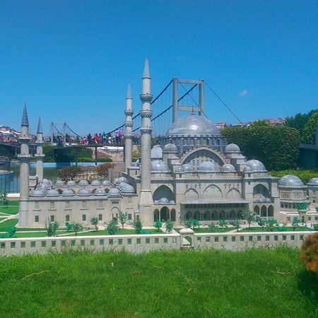 Eminönü Süleymaniyecamii Fatih Cami mosque istanbul miniature miniaturk maket model art halicioglu sutluce muze museum tour travel Turkiye architech mimari