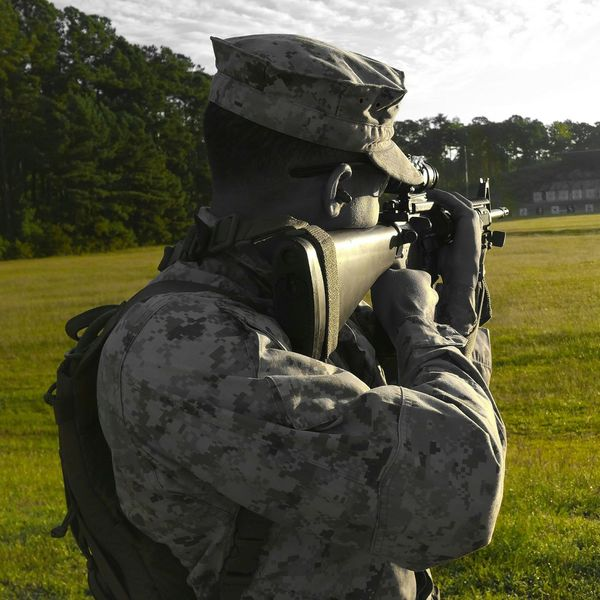 One Shot, One Kill. USMC Marine Corps Marksmanship Discipline Smartphonephotography PhotographybyTripp