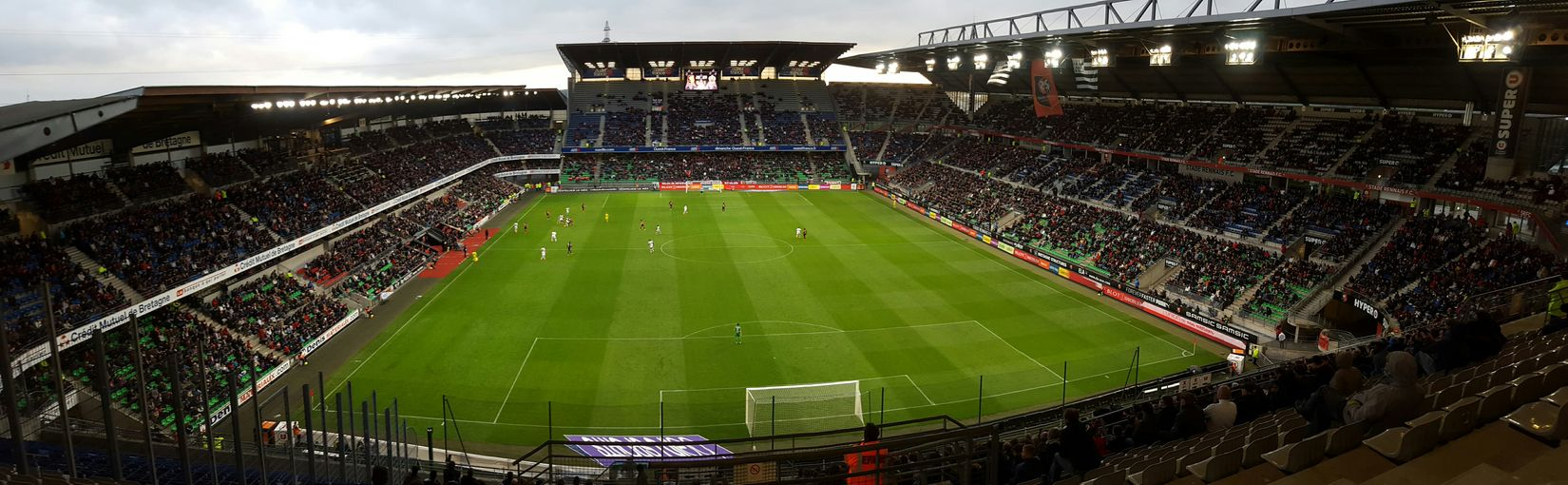 SRFC - OGCN First Eyeem Photo SRFC Football Stadium Football Rennes