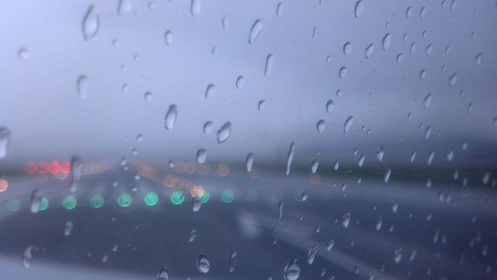 Raindrops on the Runway Water Rainy Season Rain RainDrop No People Sky Outdoors Sanfran San Francisco Bay Sanfrancisco Sfo SF San Francisco Weather Photography Weather Atmospheric Mood