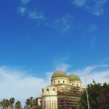 Cathedral Benghazi Sky Building