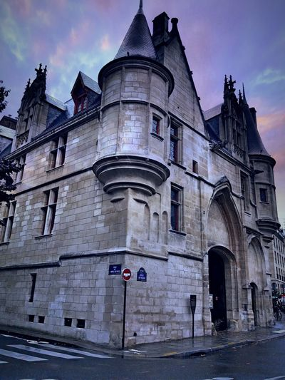Architecture Building Exterior Façade Castle Walls Bibliotheque Paris ❤