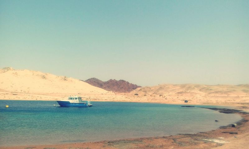 Water Sunny Sea Sand Clear Sky Beach Desert Heat - Temperature Blue Nautical Vessel Scenics Nature Travel Destinations No People Landscape Outdoors Sky Day Beauty In Nature Salt - Mineral Beauty In Nature EyeEmNewHere The Week On EyeEm Egypt Ras Mohamed Egypt
