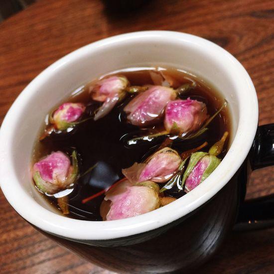 Enjoying Life Rose Tea