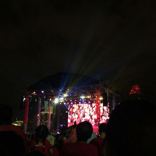 Celebration Sg50 Ndp2015 Singapore Marina Bay Sands Red Urban Lifestyle