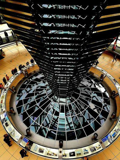 Discover Berlin Berlin Indoors  Architecture Berlin Photography Berlin Mitte Reichstagskuppel Reichstag