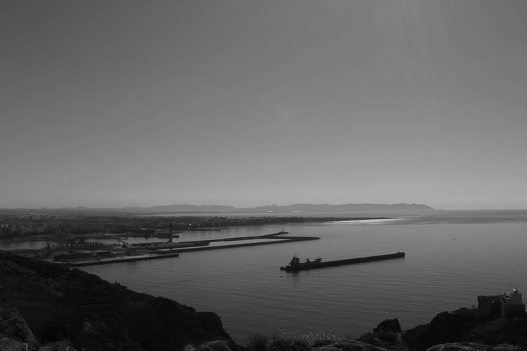 Almeriaturismo Almería Almería Spain Beauty In Nature Blackandwhite Byw Nature No People Outdoors Scenics Sea Sky SPAIN Tranquility Water