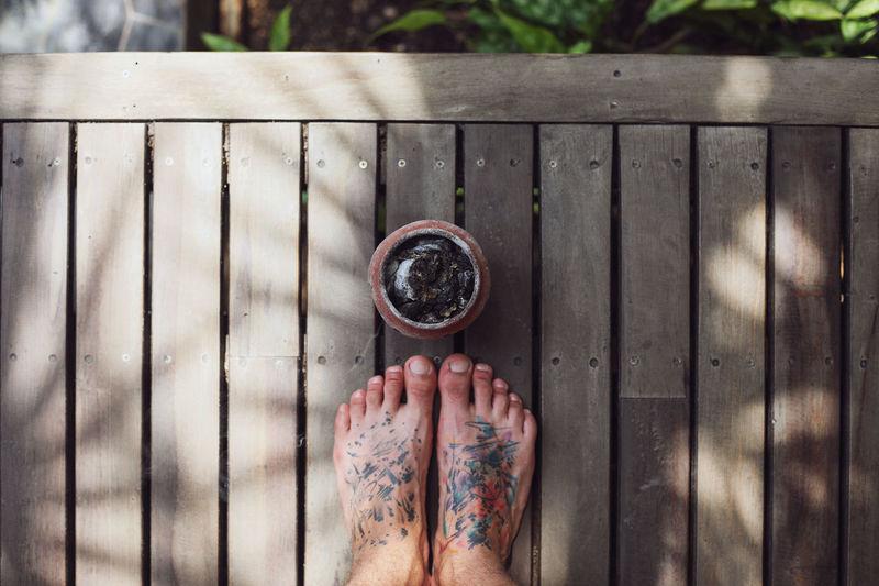 Ceramic Pot Life Is A Beach Travel Barefoot Barefoot Lifestyle Beach Tattoo Tattoo Feet