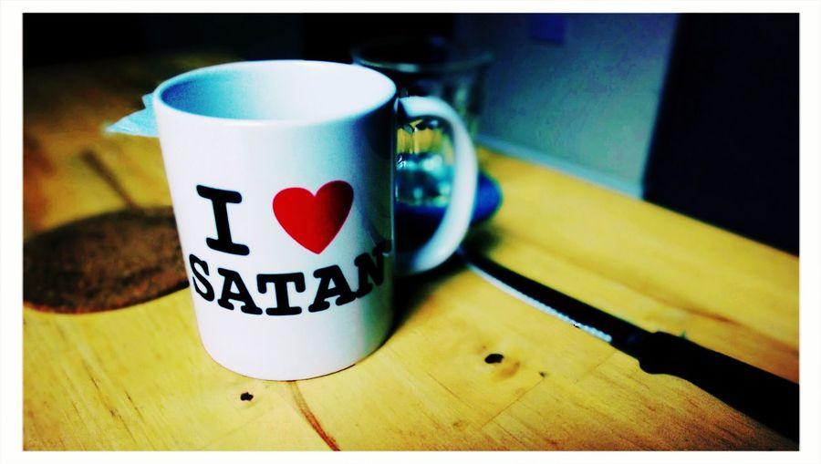 Satan Satan Mug Kitchen Life