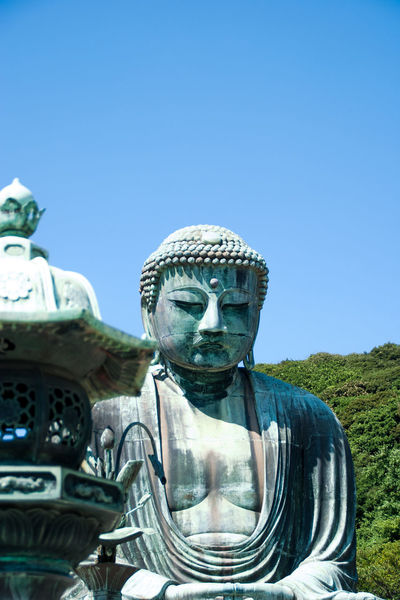 Art Buddha Statue Cultures Human Representation Kamakura Kōtoku-in Religion Sculpture Statue Tradition