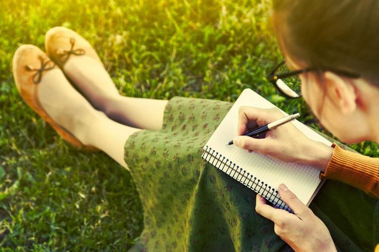 Writer Writers Writing Book Book In Nature Childhood Close-up Day Grass Human Hand Lifestyles Nature_collection Outdoors People Real People Togetherness Women Write Something About You