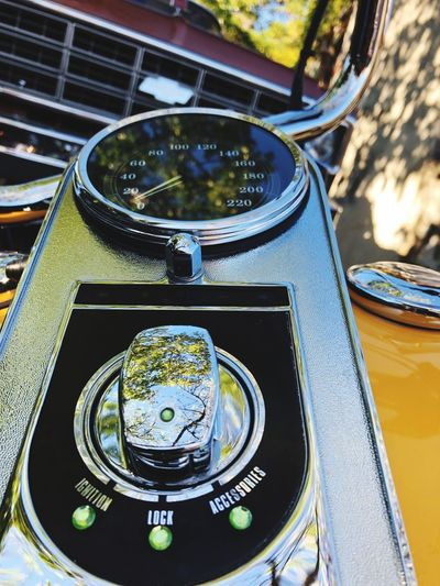 Love HD Harley Davidson Chevrolet Passion Getty Images High Angle View No People Day Sunlight Table Close-up Outdoors Retro Styled Car Motor Vehicle Mode Of Transportation Still Life Antique Pattern Transportation Nature Crockery Water Reflection Metal