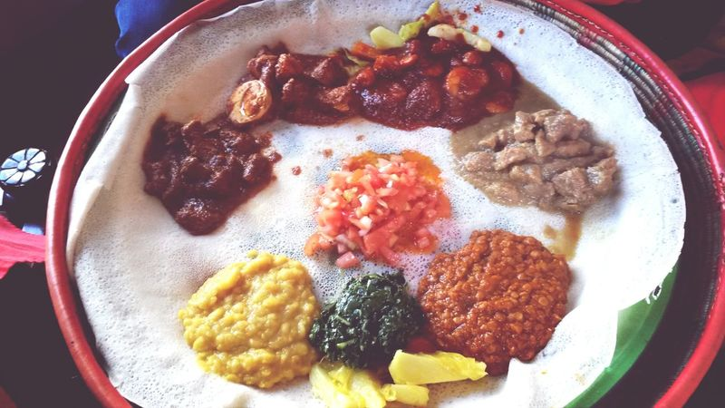Ethiopian food never disappoints Delicious Ethiopian Food Nom Best Day Ever