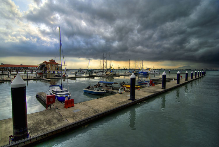 Storm Clouds at