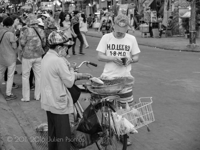 Julien Psomas Ancient City Black And White Blackandwhite Corn Hoi An Hoian  Street Food Street Photography Streetfood Streetphotography Vietnam