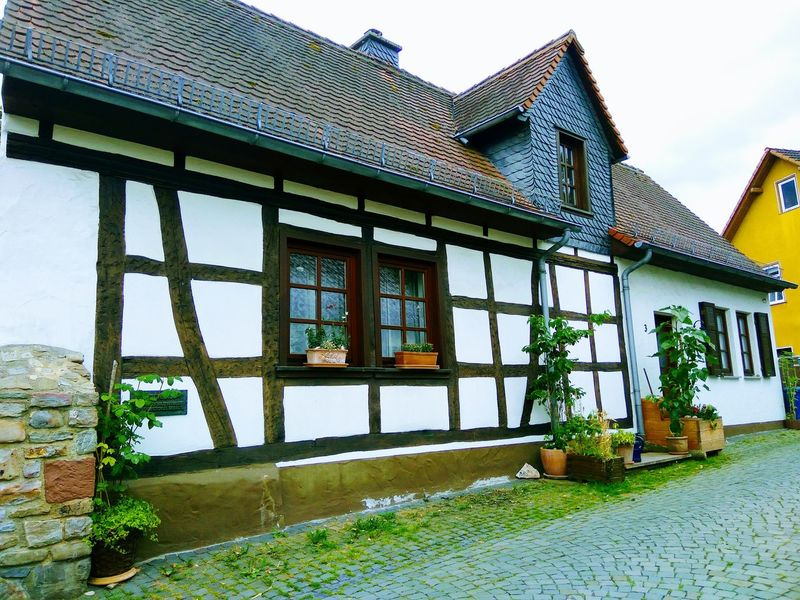 Fachwerkhaus Architecture Built Structure Building Exterior Window Day Outdoors Sky No People Old Buildings Old House Old Architecture Old Town Outdoors Photography Walking Around