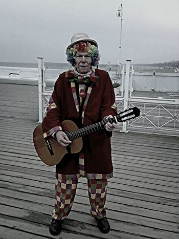 Clown Man Beach