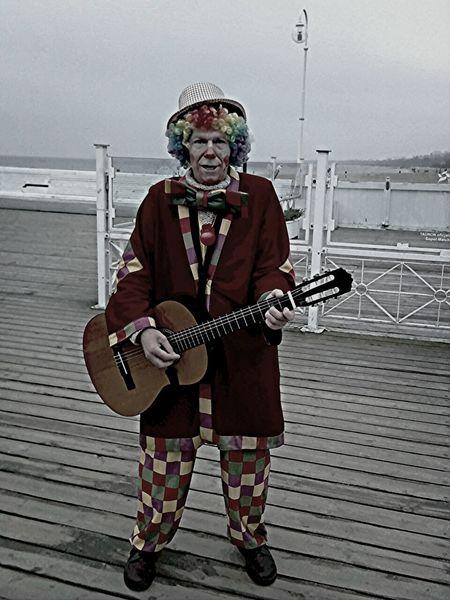 Clown Man Beach