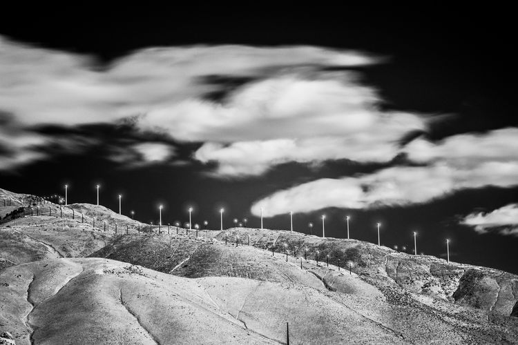 California Dreamin Wind Energy Wind Turbine Wind Power Absract Cloud - Sky Creative Landscape Nature Outdoors Scenics Sky
