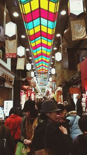 Trying all the free stuffs @ Nishidori Food Market Kyoto Check This Out Enjoying Life Exploring Walking Around Tasty Dishes Japan Adventure The Best ❤ Sugoi
