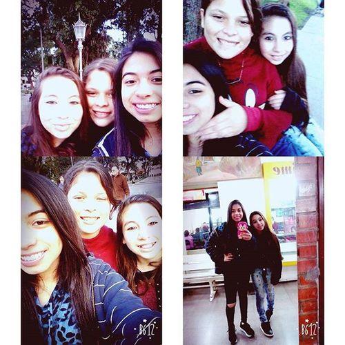 Hermoso dia pase con mis hermanas ♡