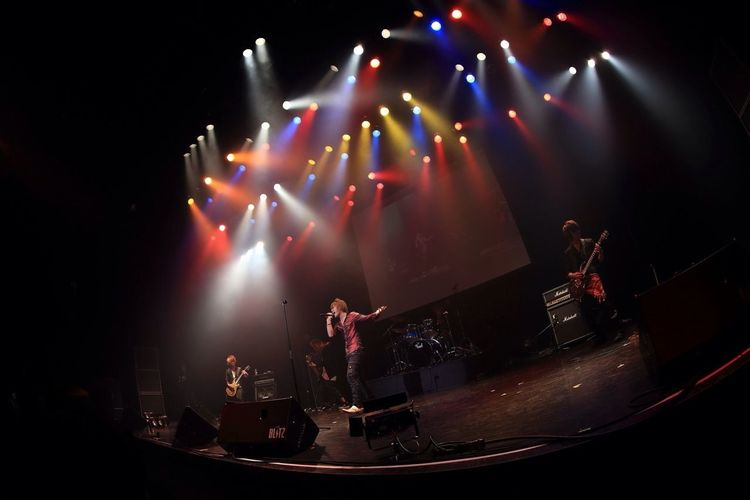 """Live Performance Of """"Lu-ke"""" Performed In 2013.1.28 Akasaka BLITZ. They Are The High School Students Of An Amateur Band.〈41〉"""