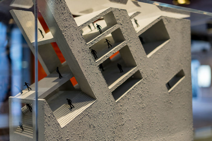 Architecture Barbican Centre Abstract Architecture Building Built Structure Close-up Concept Conceptual Concrete Day Manmade Miniature No People People Selective Focus
