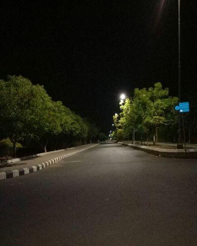 Empty Roads Silence Of Nature Night Lights No People Night Life Nightphotography