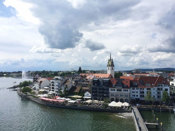 Wolken über Friedrichshafen Am Bodensee