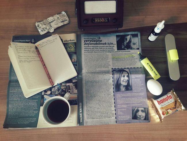 """"""" Hiç bir yere ait olmayarak her yere ait olmanın bahşettiği özgürlükle.."""" My Desk Bursa / Turkey Masadamasaymışha Kafadergisi Tezerözlü Egg Morning Hanuta Turkishcoffee"""