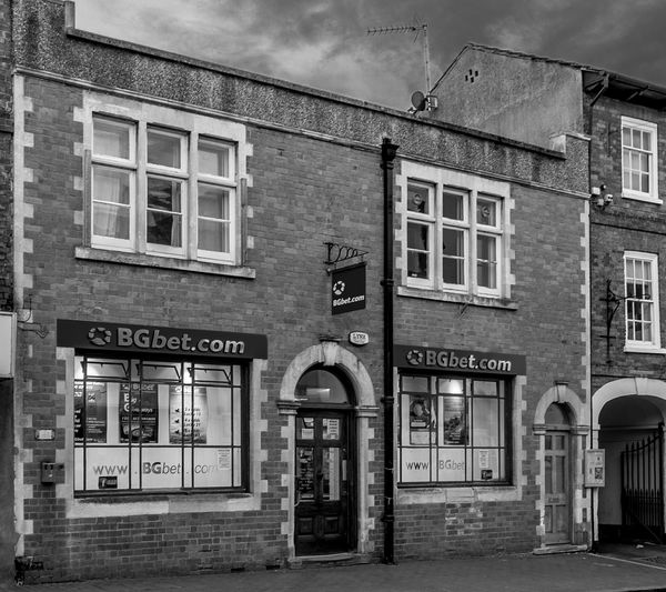 Former Royal Mail sub office, High Street, Newport Pagnell Royal Mail Post Office Architecture Black And White Monochrome Buckinghamshire Newport Pagnell High Street