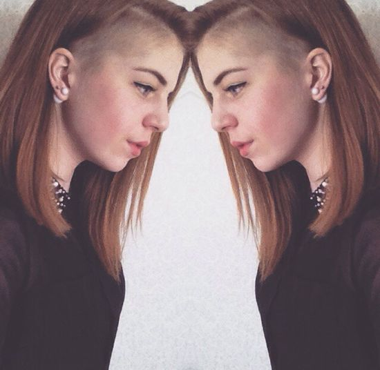 Fashion Like Beutiful  Russia World Look Tumblr Shaved Hair Summer Girl