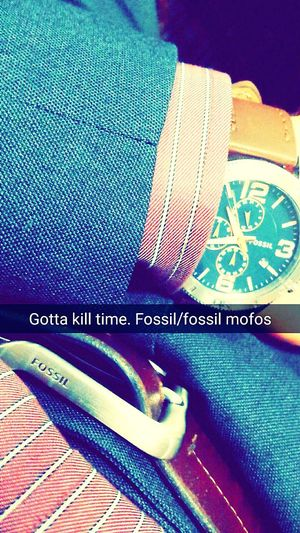 Meeting Buckle Watch Fossil Costard Class 😆 Life