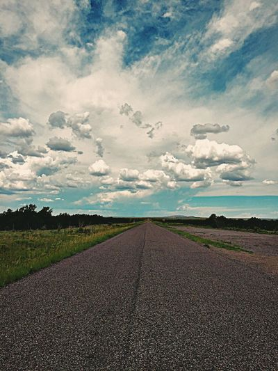 """A Road Less Travelled"" New Mexico Highway 42 only runs from the Village of Corona to the tiny town of Willard. After many years it was finally repaved and has yet to receive its stripes. Rural Rural America Ruralroad Highway Lonelyroad Newmexico Newmexicophotography Roads"
