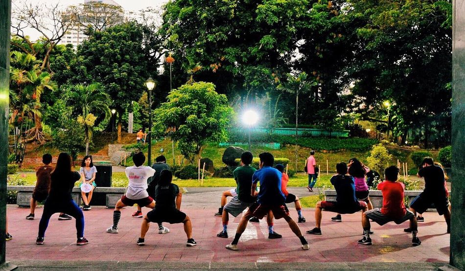 Group exercise Check This Out Alternative Fitness Group Of People Exercise People Taking Photos Capture The Moment Eye4photography  Write With Colors Myperspective Showcase April Eyeem Philippines EyeEm Gallery