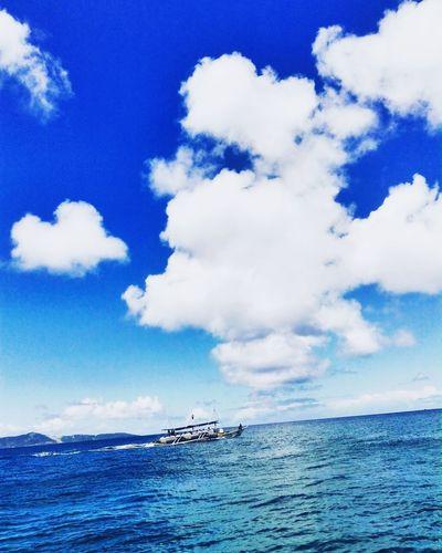 Sea Cloud - Sky Sky Water Blue Nature Outdoors Travelkace Chooseph Choosephilippines Its More Fun In The PHILIPPINES! Sinopinas Eyeem Philippines EyeEm