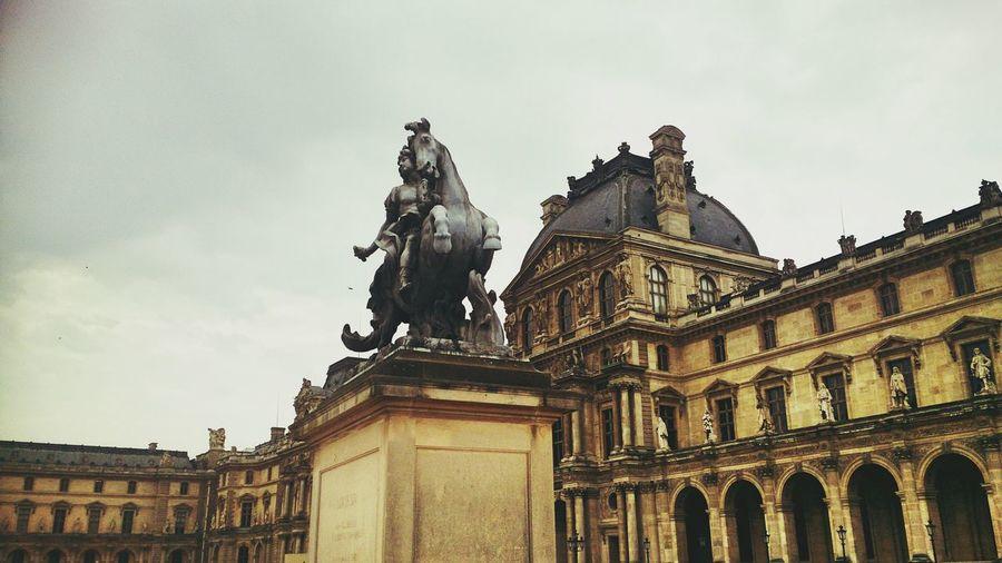 Paris Paris, France  Statue Louvre Look Up Eyeemgallery